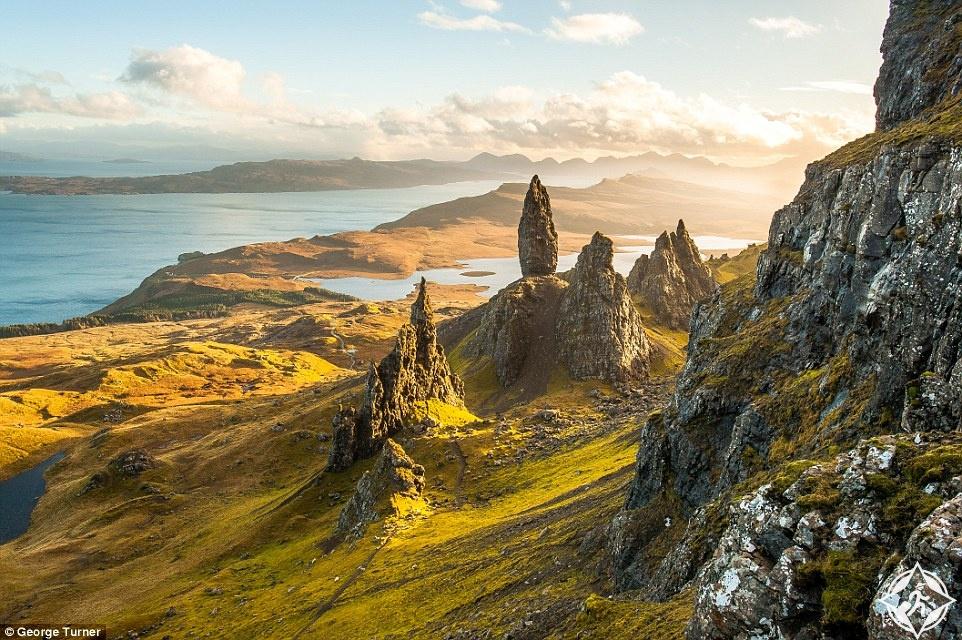 بالصور.. شاهد الطبيعة الساحرة فى اسكتلندا