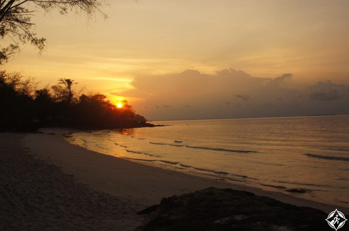بالصور.. جزيرة كوه رونغ.. المعنى المرادف للجمال في كمبوديا