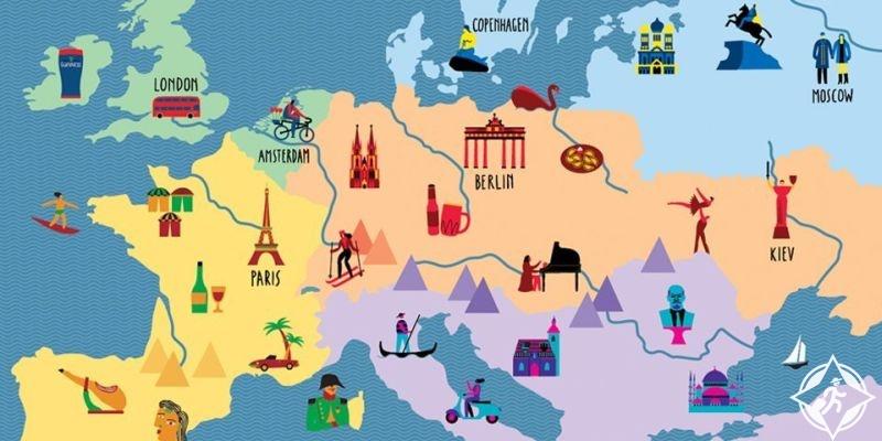 نصائح السفر الى اوروبا باقل التكاليف