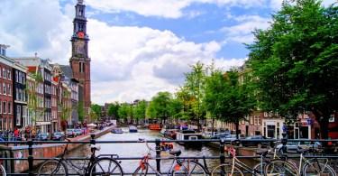 الدراجة في أمستردام