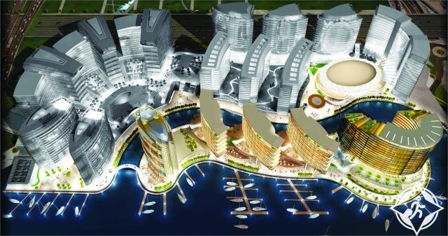 مشروع جوهرة الخور يفوز بجائزة أفضل مشروع سياحي عربي مستقبلي