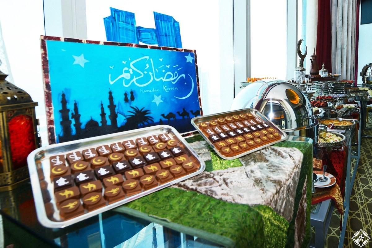 إفطار فوق السحاب في فندق سانت ريجيس أبوظبي خلال شهر رمضان