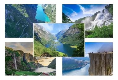 الطبيعة في النرويج