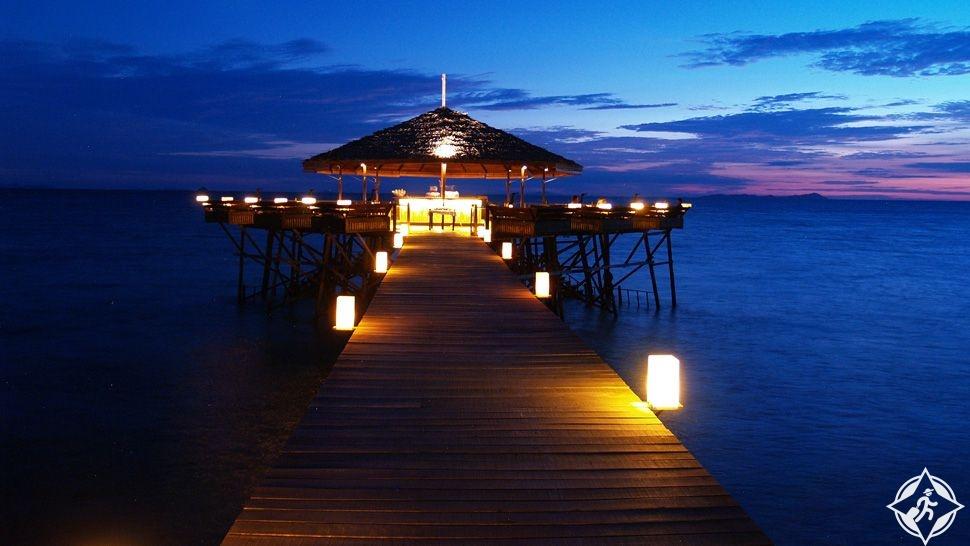 شهر العسل في جزيرة تيومان ماليزيا.. وجهة مثالية للخصوصية