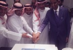 نائب الرئيس للمبيعات ومديرعام مطار الملك خالد الدولي يقومان بتدشين أول رحلة إلى ميونخ