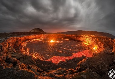 بحيرة الحمم البركانية 3
