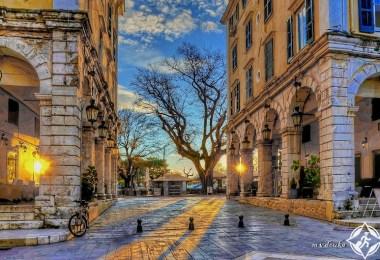 السفر إلى كورفو في اليونان