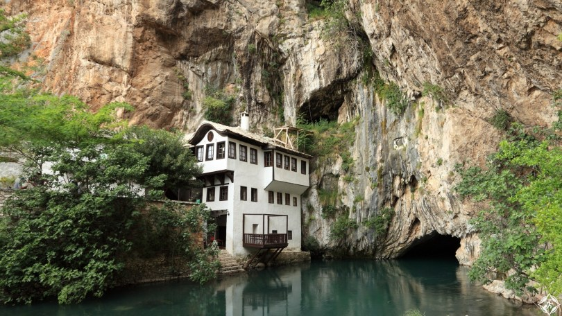 Blagaj - Buna, largest river source in Europe