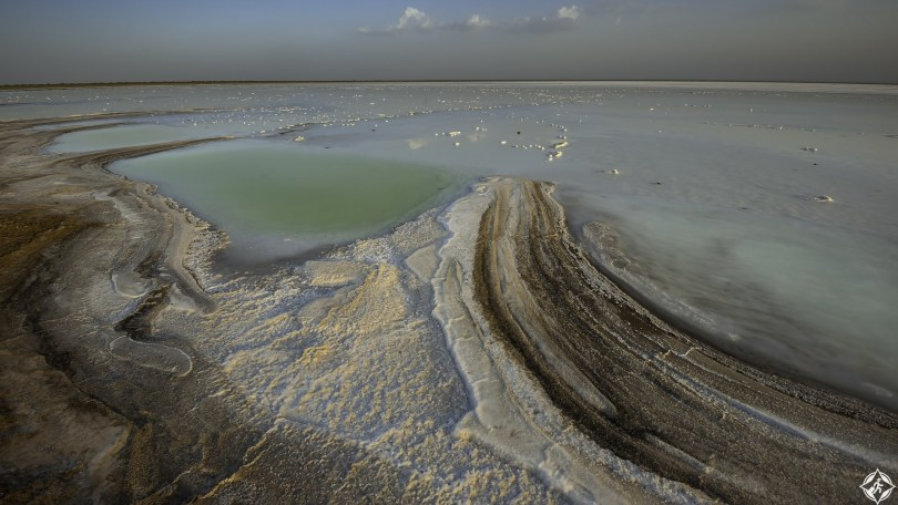 Great Rann of Kutch seasonal salt marsh, Gujarat, India