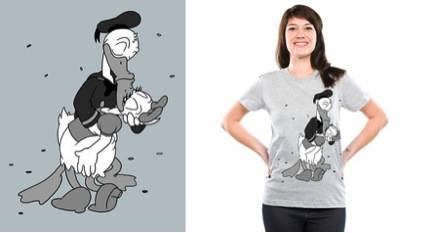 V-J Day in Duckburg by Threadless.