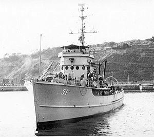 USS Partridge, c. 1947