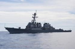 USS Fitzgerald underway in the Pacific Ocean on Sept. 12, 2012. U.S. Navy Photo
