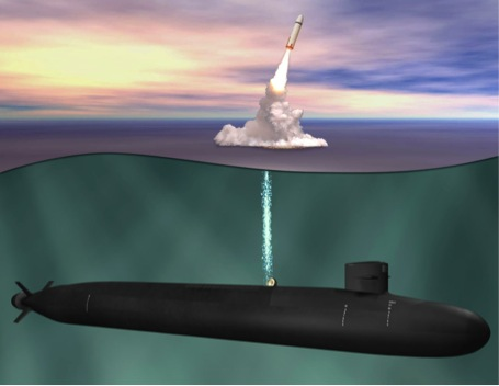 An undated artist's rendering of the Ohio Replacement. Naval Sea Systems Command