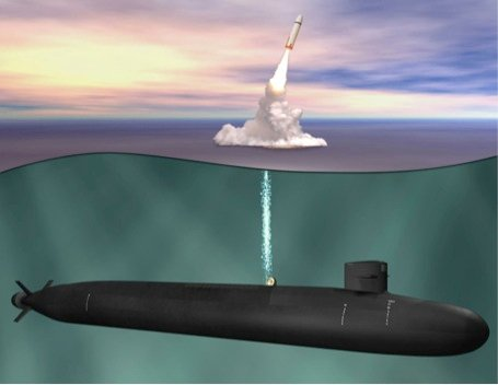 An undated artist's rendering of the Ohio Replacement. Naval Sea Systems Command Image