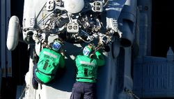 Maintenance and carrier deployments will be reduced due to sequestration and the Continuing resolution. US Navy Photo