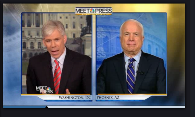 McCain on Meet the Press: Hagel Will Be Confirmed