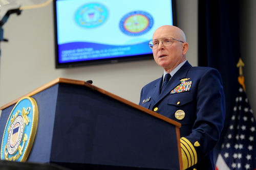 Document: Coast Guard Commandant Papp's Senate Testimony