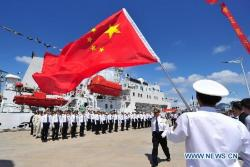 China is rejecting the U.N. Law of the Sea treaty. Xinhua Photo