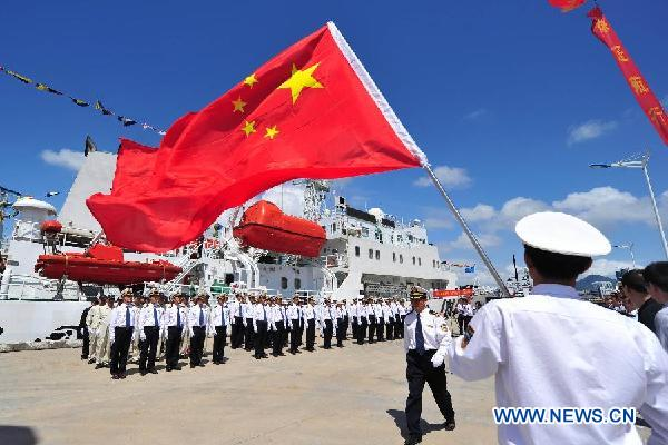 China Asks Countries to not 'Create Tension' in South China Sea