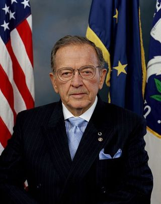 Ted Stevens official US Senate photo from 2005.