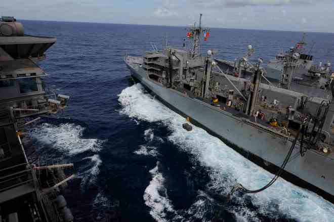 Navy to Decommission Two Oilers in Cost Saving Scheme