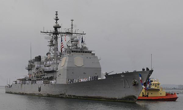 Navy Stands Behind 2015 Cruiser Cuts