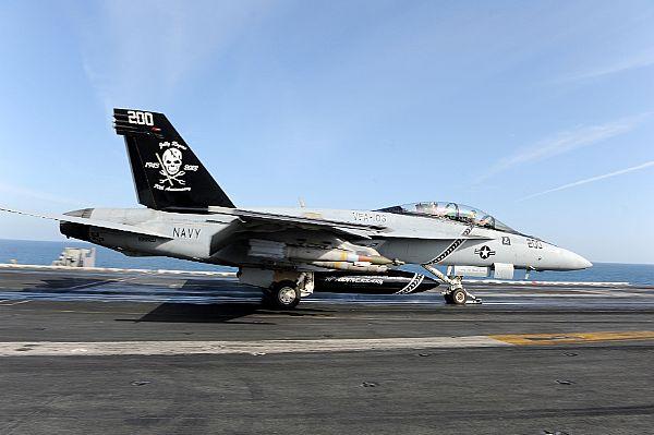 Jolly Roger Super Hornet Down in Arabian Sea