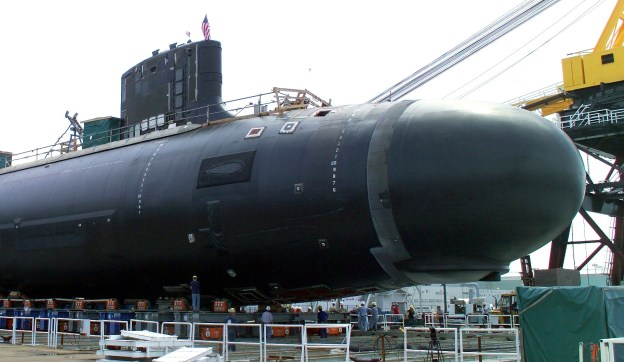 U.S. made parts in this Virginia-class submarine could be replaced by foreign components.