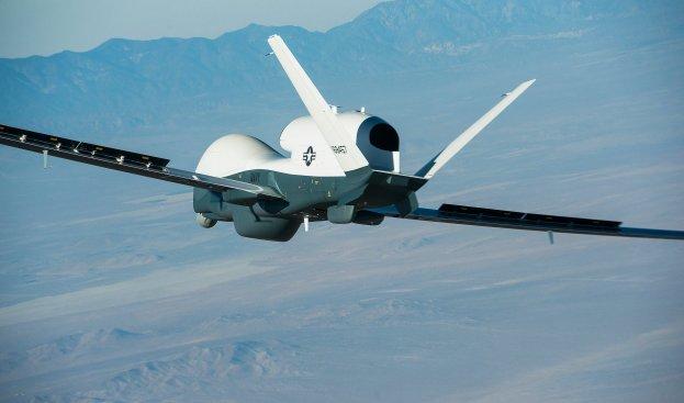Navy's New Surveillance UAV's First Flight