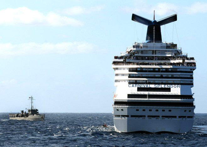 Document: Coast Guard Report on 2010 Carnival Splendor Incident