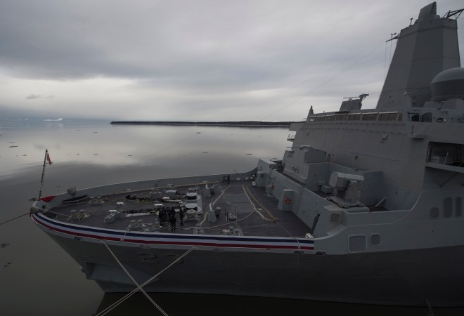 NAVSEA: USS Anchorage Completes Final Contractor Trials