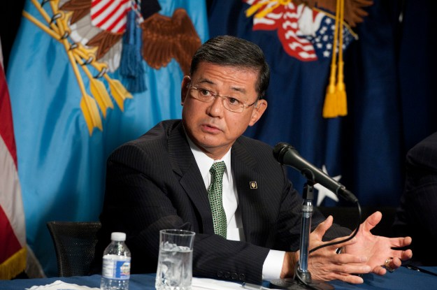 Secretary of Veterans Affairs Erik Shinseki