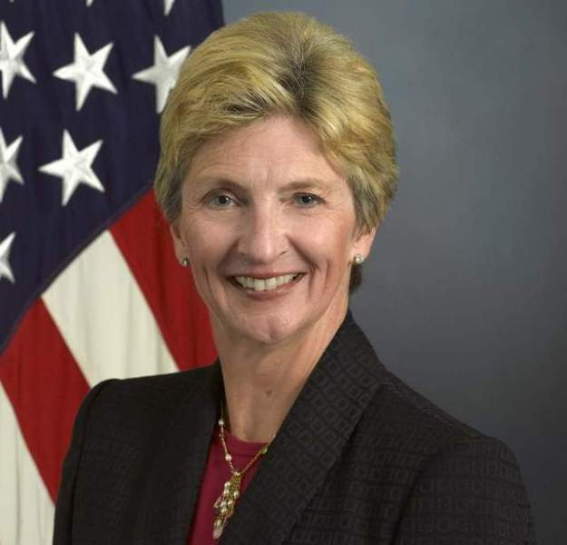 Jo Ann Rooney, the Obama administration nominee for Under Secretary of the Navy.