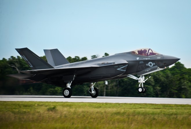Lockheed: New Carrier Hook for F-35