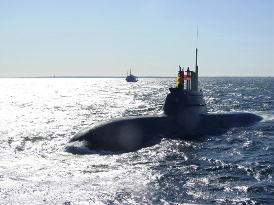 Singapore Buys New Class of  German Attack Submarines