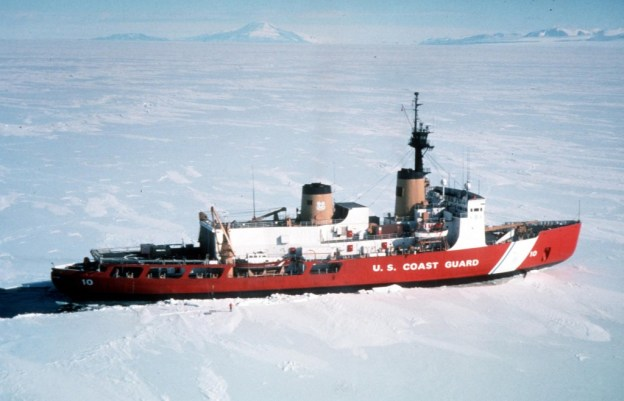 US Coast Guard Ice Breaker Polar Star (WAGB-10). US Coast Guard Photo