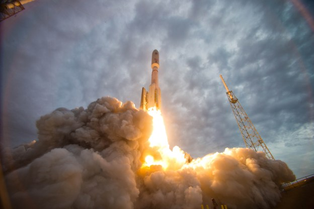 Launch of Atlas V MUOS-2, July 19, 2013 from Cape Canaveral AFS. US Navy Photo
