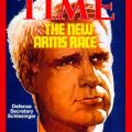 James Schlesinger on the Feb. 11, 1974 cover of Time.