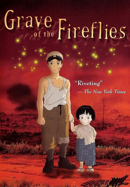 Windwing - Through Japanese Eyes: World War II In Japanese Cinema * Grave of the Fireflies poster