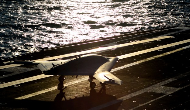 Northrop Grumman X-47B Unmanned Combat Air Systems Demonstration (UCAS-D). US Navy Photo