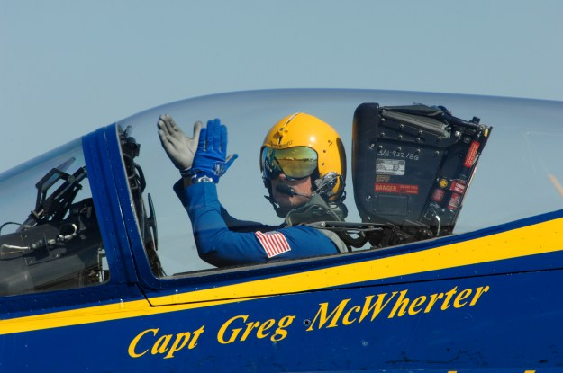 Capt. Greg McWherter in 2011. US Navy Photo