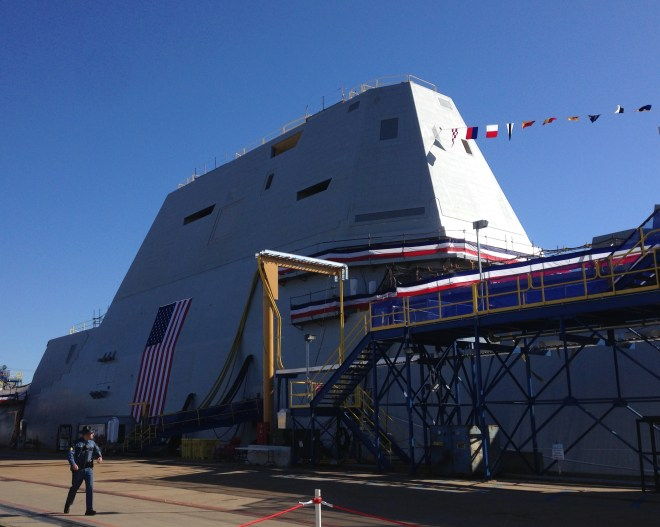 Zumwalt Class Costs Have Risen $2 Billion in Last Five Years