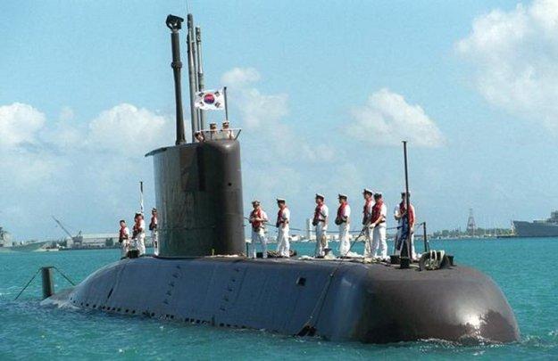 ROKN Type-209 submarine