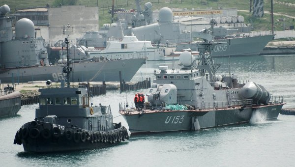 Matka-class missile boat Priluki in April. RIA/Novosti Photo
