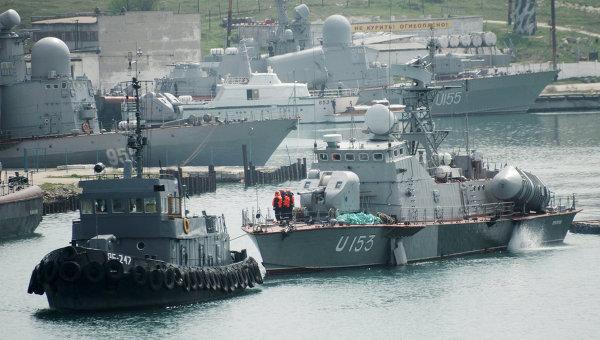 Matka-class missile boat Priluki in April. RIA/Novosti Photo