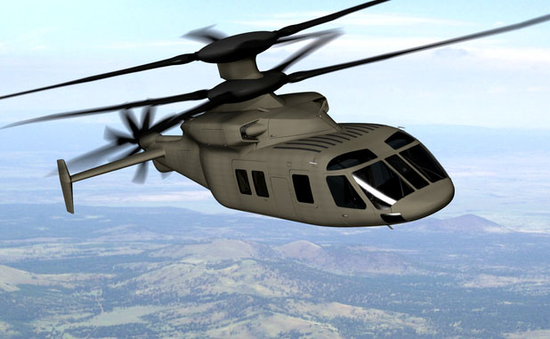 Sikorsky and Boeing Team Submit New Army Helicopter Design