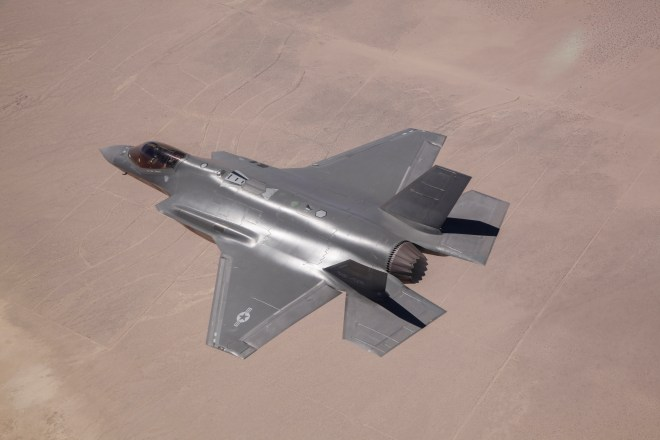 Air Force Grounds All F-35As Following Fire
