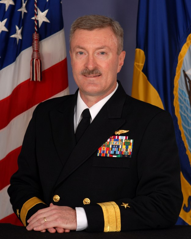 Rear Adm. Mark Darrah. US Navy Photo
