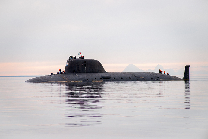 Russian Navy Accepts First in New Class of Nuclear Attack Submarine