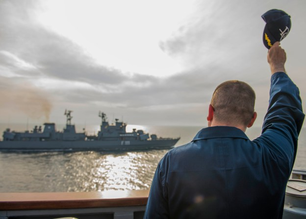 Destroyer Donald Cook Completes First Eventful Forward Patrol